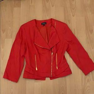 Bebe red Cropped jacket